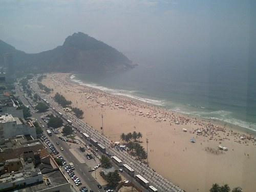 ブラジル コパカバーナビーチ