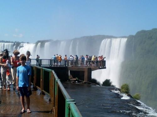ブラジル イグアスの滝5