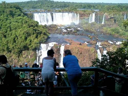 ブラジル イグアスの滝2