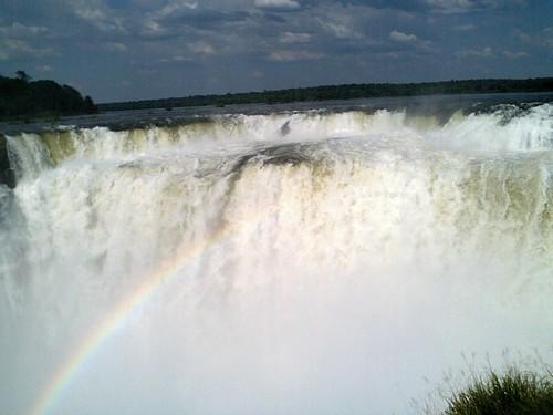 アルゼンチン イグアスの滝1