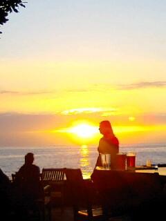 コナの夕日